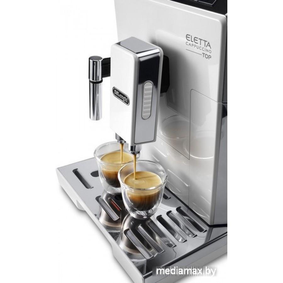Эспрессо кофемашина DeLonghi Eletta Cappuccino TOP ECAM 45.764.W