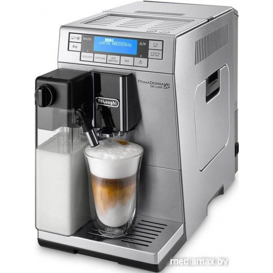 Эспрессо кофемашина DeLonghi PrimaDonna XS ETAM 36.364.M