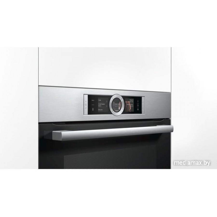 Электрический духовой шкаф Bosch HRG656XS2