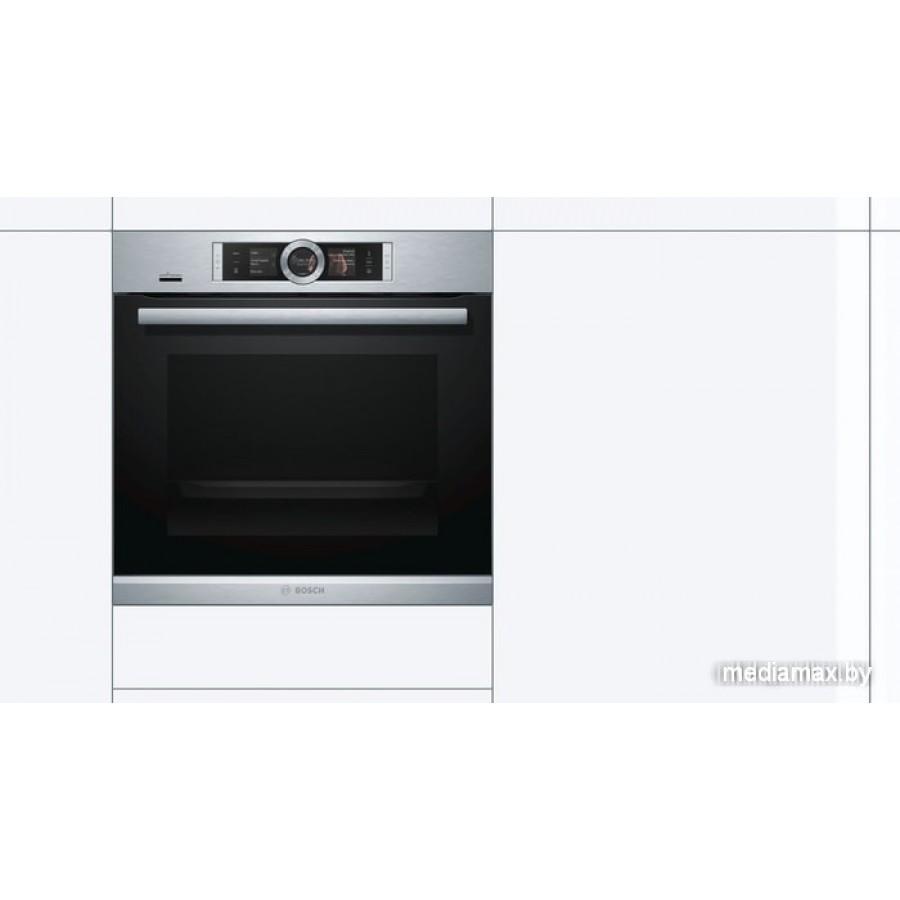 Электрический духовой шкаф Bosch HSG636XS6