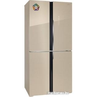 Четырёхдверный холодильник Hiberg RFQ-490DX NFGY