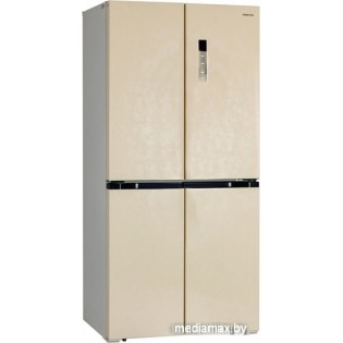 Четырёхдверный холодильник Hiberg RFQ-490DX NFYm