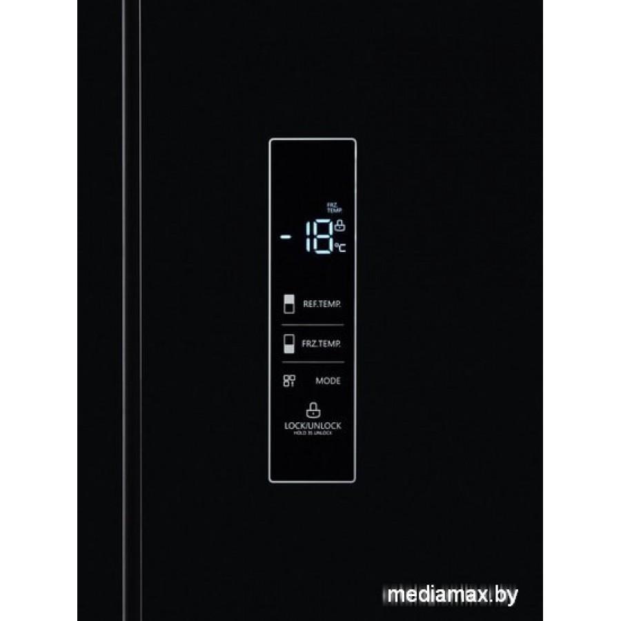 Четырёхдверный холодильник Midea MRC518SFNGBL