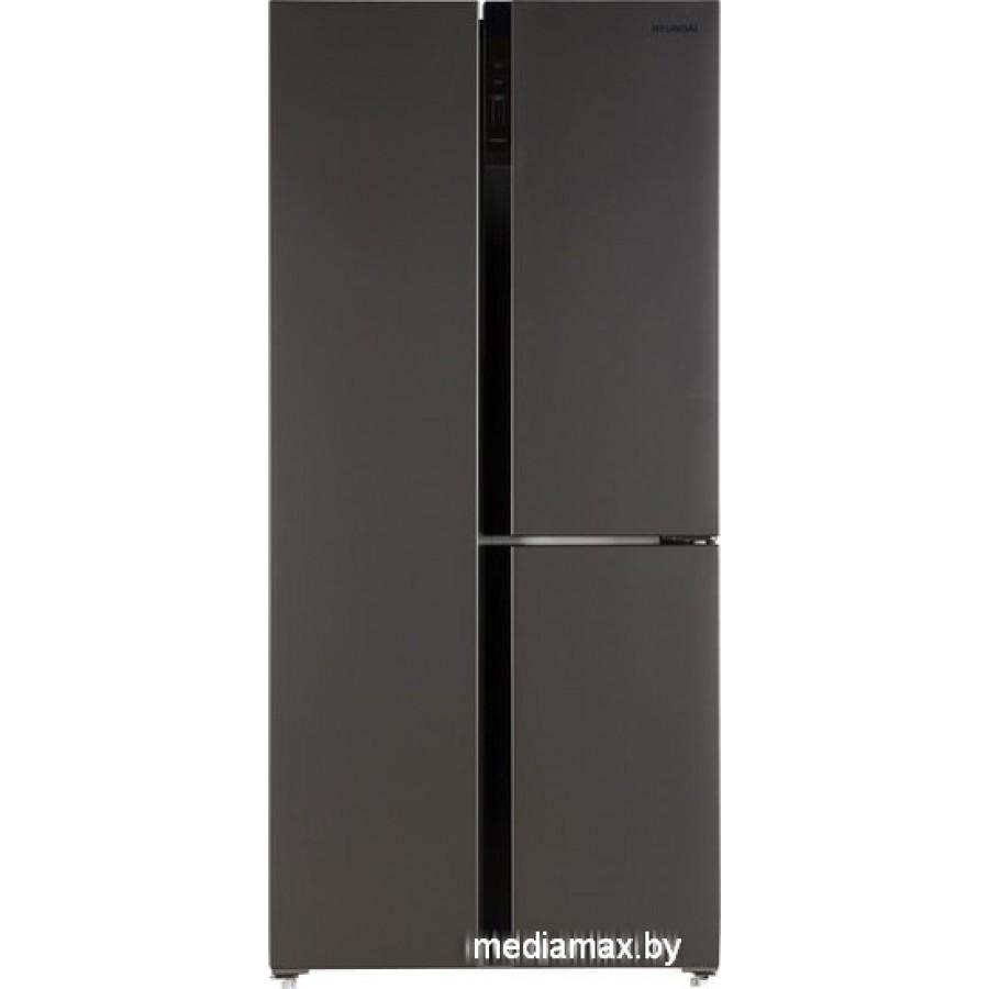 Холодильник side by side Hyundai CS5073FV (черный)