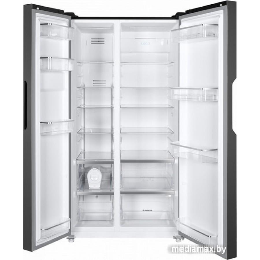 Холодильник side by side MAUNFELD MFF177NFB