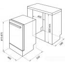 Посудомоечная машина MAUNFELD MLP-08IMR