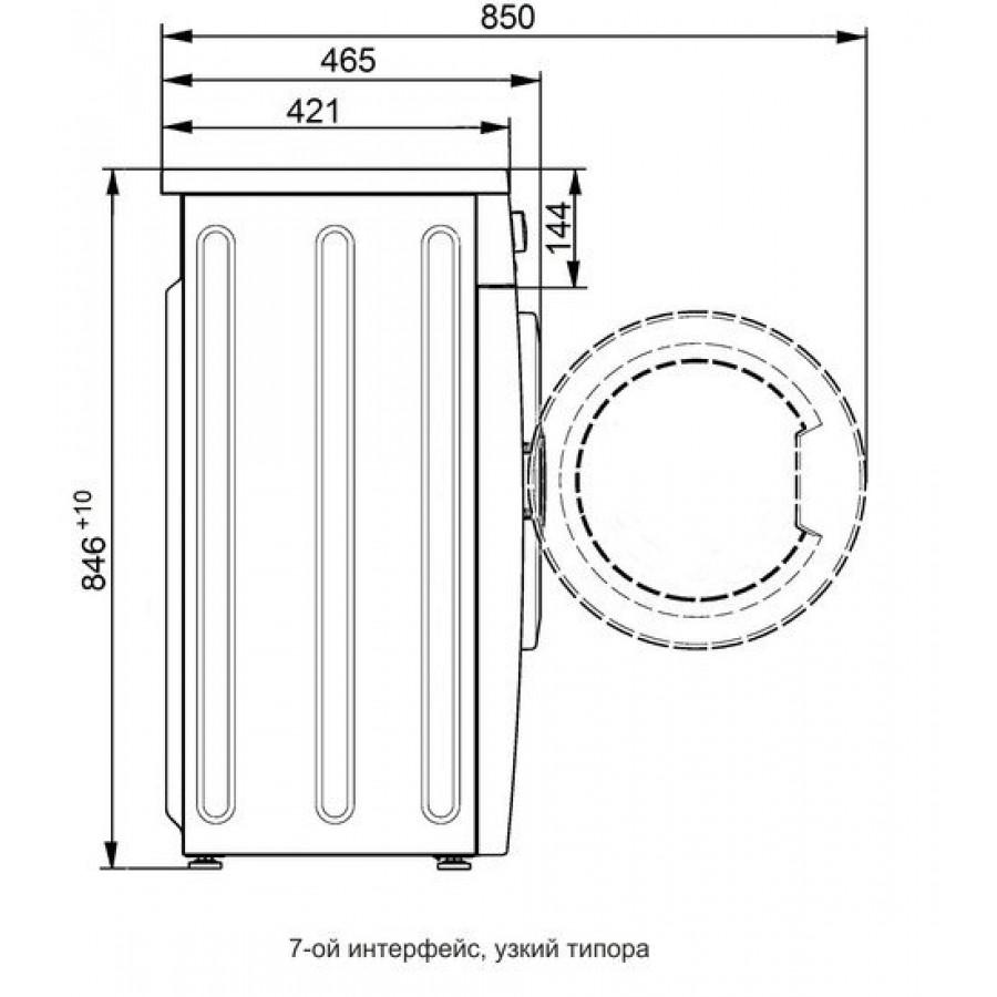 Стиральная машина ATLANT СМА 50У107-000