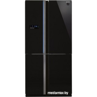 Многодверный холодильник Sharp SJ-FS97VBK
