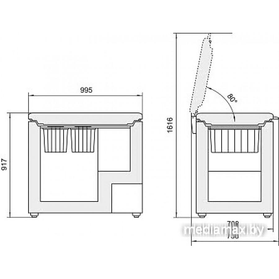 Морозильный ларь Liebherr GT 3032 Comfort